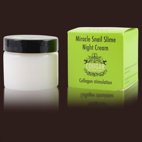 Noční krém s hlemýždím slizem proti akné