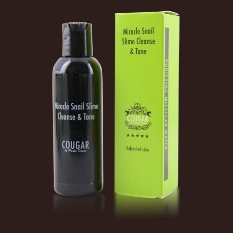 Čistící a tonizační voda s hlemýždím slizem na tvář proti akné