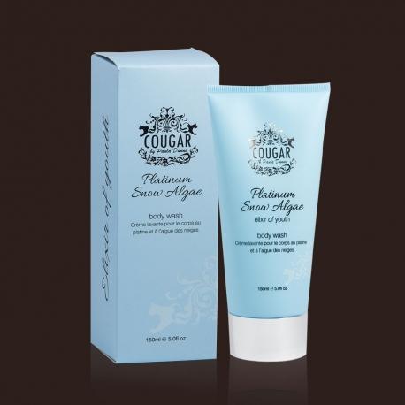 Luxusní sprchový gel s platinou a sněžnými řasami