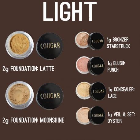 Luxusní sada minerální makeup