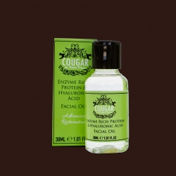 Olej na tvář s kyselinou hyaluronovou obohacený o enzym proteinu