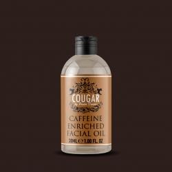 Olej s kyselinou hyaluronovou obohacený o kofein