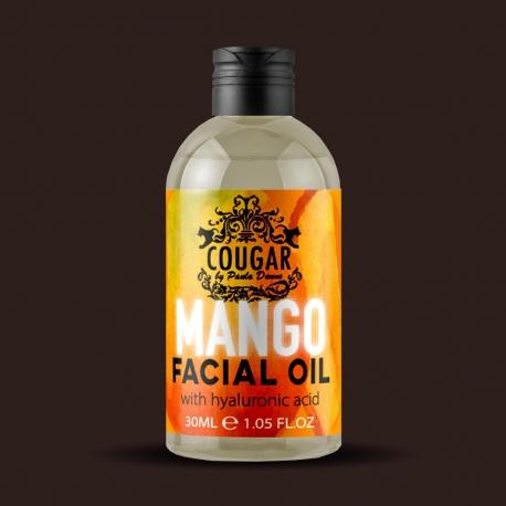 Pleťový olej s extraktem z manga a kyseliny hyaluronové