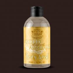 Sprchovací gel s extraktem ze zlata a arganového oleje