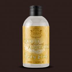Tělové mléko s extraktem ze zlata a arganového oleje