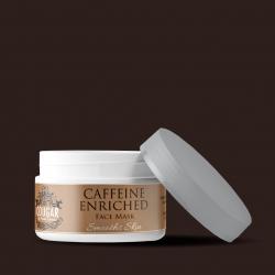 Maska s kofeinem a kyselinou hyaluronovou
