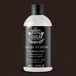 Denní krém Cougar s hadím jedem proti vráskám