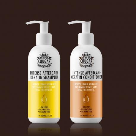 Vlasová keratinová kúra (šampón a kondicionér)