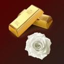 24k zlato a kmenové buňky z bílé růže